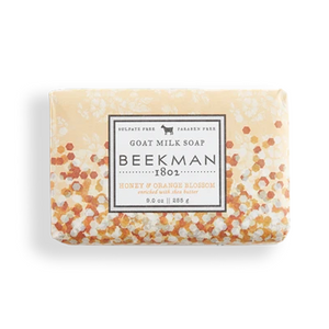 Beekman Honey & Orange Blossom goat soap