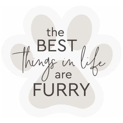 The best things in life are furry: Word Block