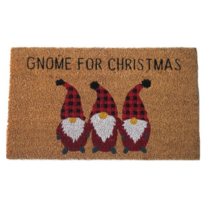 Gnome for Christmas Doormat