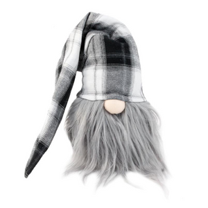 Gnome with Plaid Hat