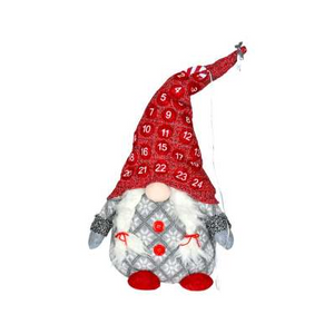 Gnome Advent Red