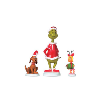 Grinch, Max & Cindy Lou-Who