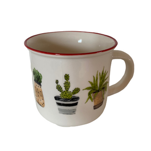 Plant mug - 3 colours available