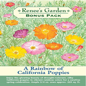 BONUS PKT CAL POPPY RAINBOW FLOWER*