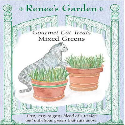 CAT TREATS GOURMET MIXED GREENS