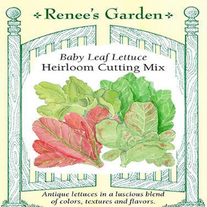 LETTUCE HEIRLOOM CUTTING MIX