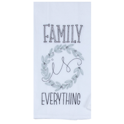 Family is Everything tea towel