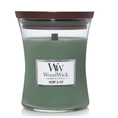 Hemp and ivy woodwick 9.7 oz