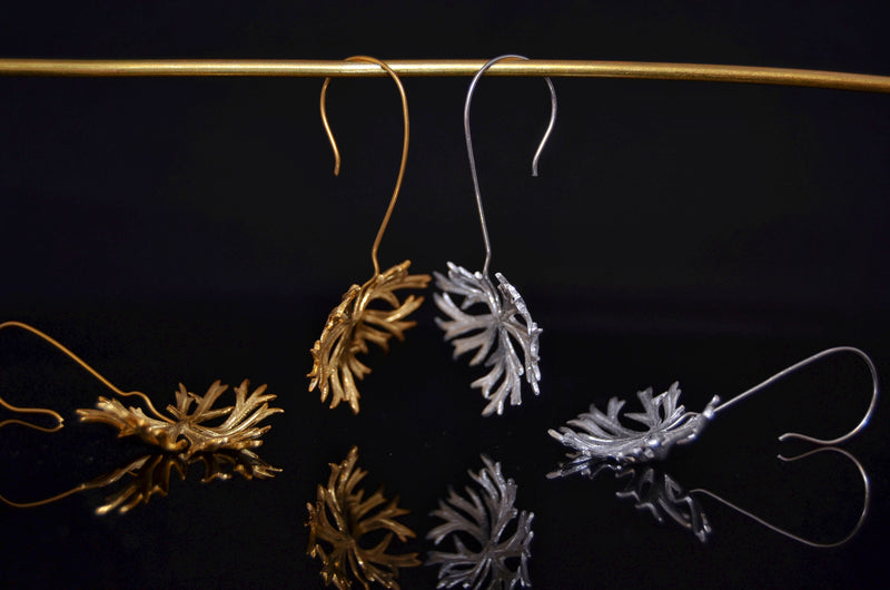 Vegetal Earrings