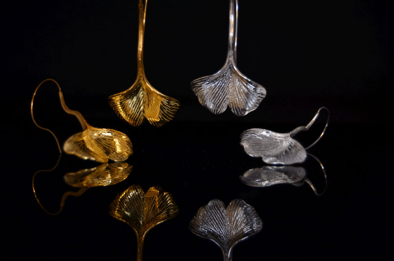 Ginkgo Biloba Earrings