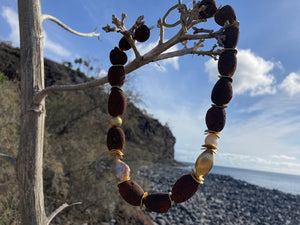Brown Lava Necklace