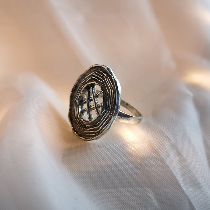 Rustic Textured Ring