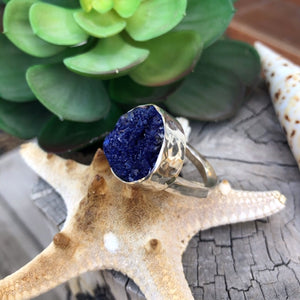 Druzy Agate Ring