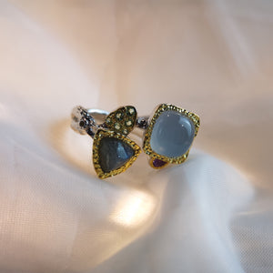 Gemstone Silver Ring