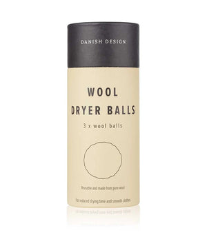 WOOL DRYER BALLS - Save time, save resources