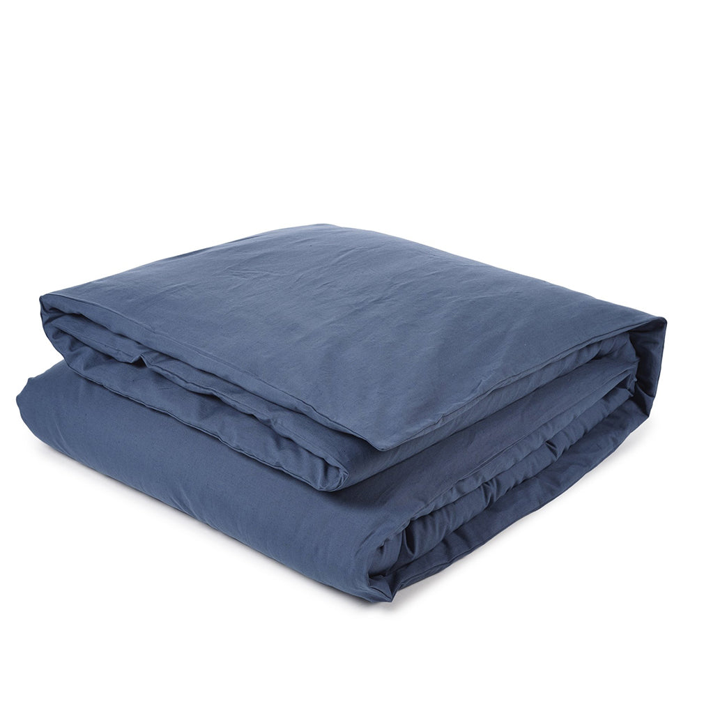California Linen Duvet Blue Rhapsody