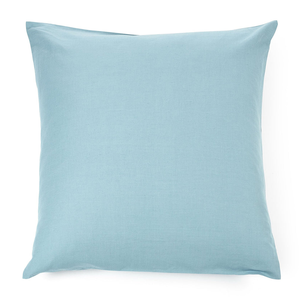 Square pillowcase 65 x 65 cms Aqua green