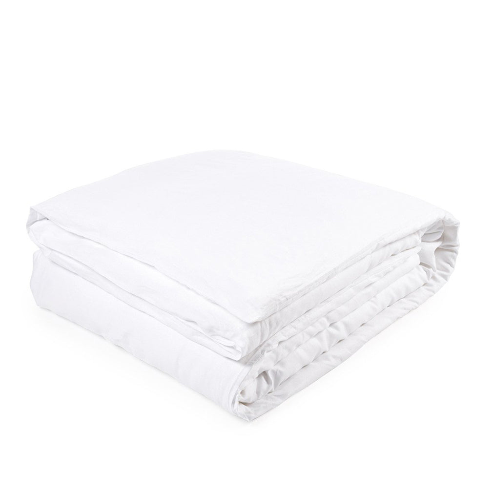 GENEVA WHITE DUVET COVER
