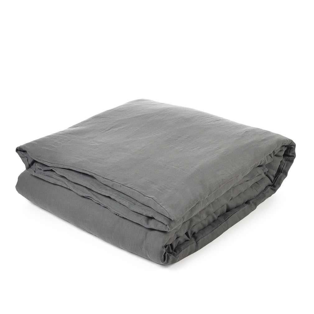 Santiago Duvet Cover Dark Grey