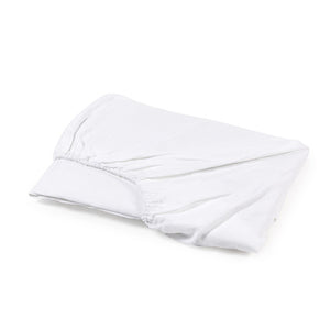 GENEVA WHITE FITTED SHEET