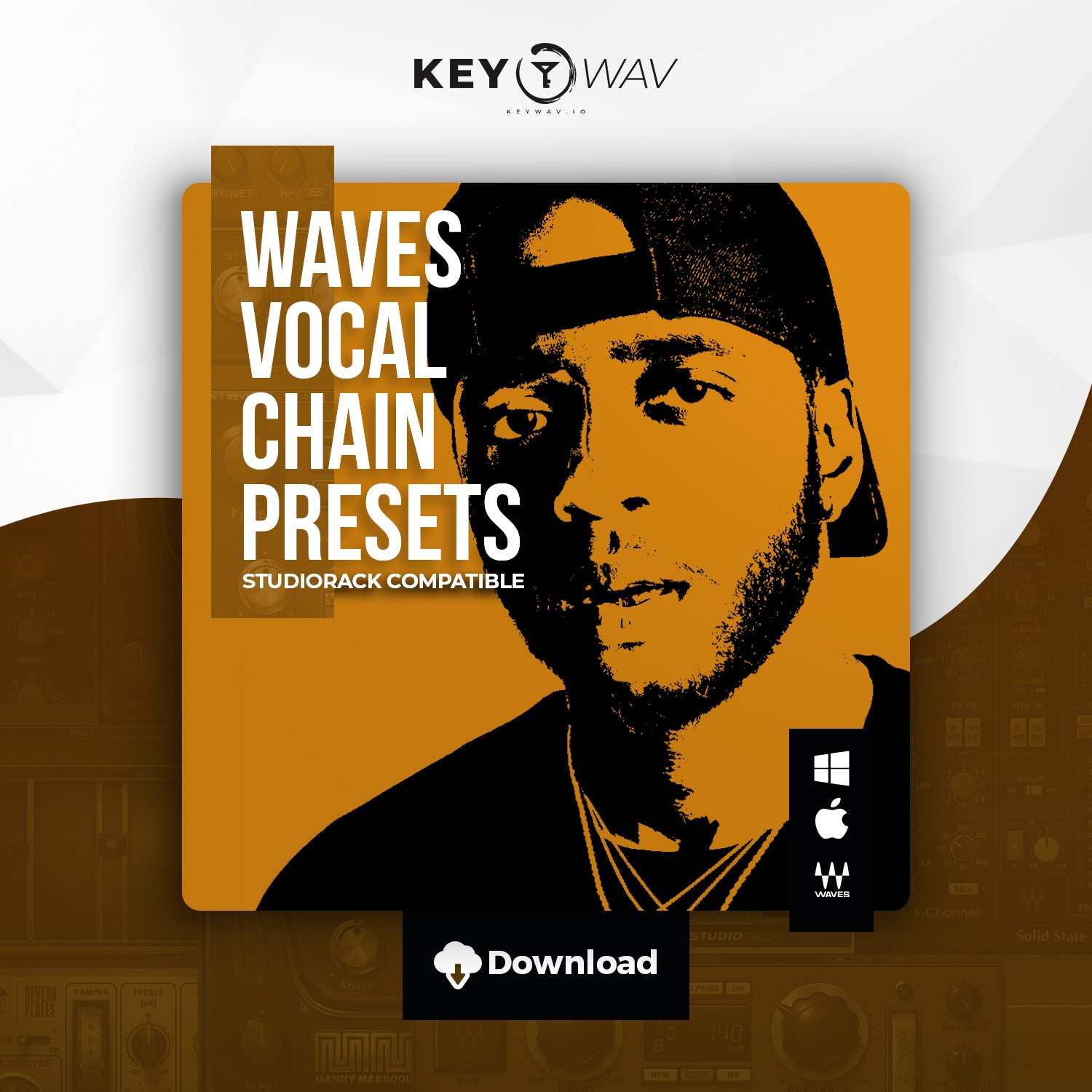 6lack Type WAVES Vocal Chain Preset