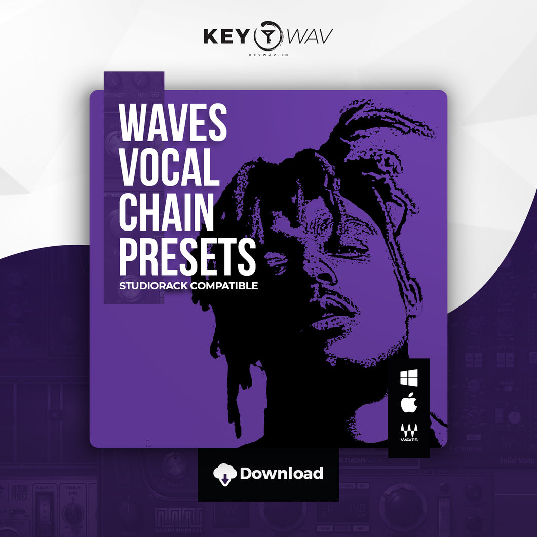 Juice Wrld Type WAVES Vocal Chain Preset