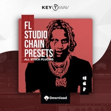 Load image into Gallery viewer, Lil Durk Type FL STUDIO Vocal Chain Preset