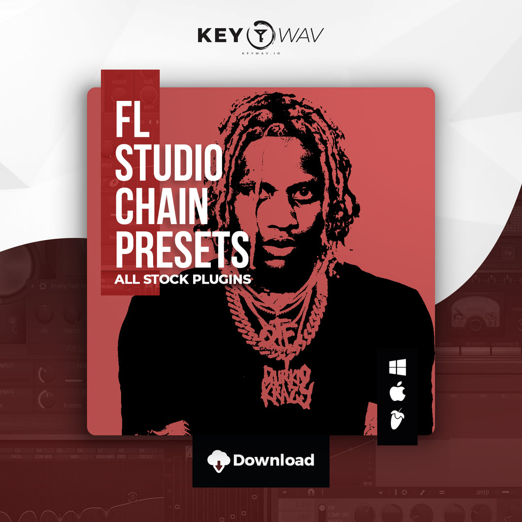 Lil Durk Type FL STUDIO Vocal Chain Preset