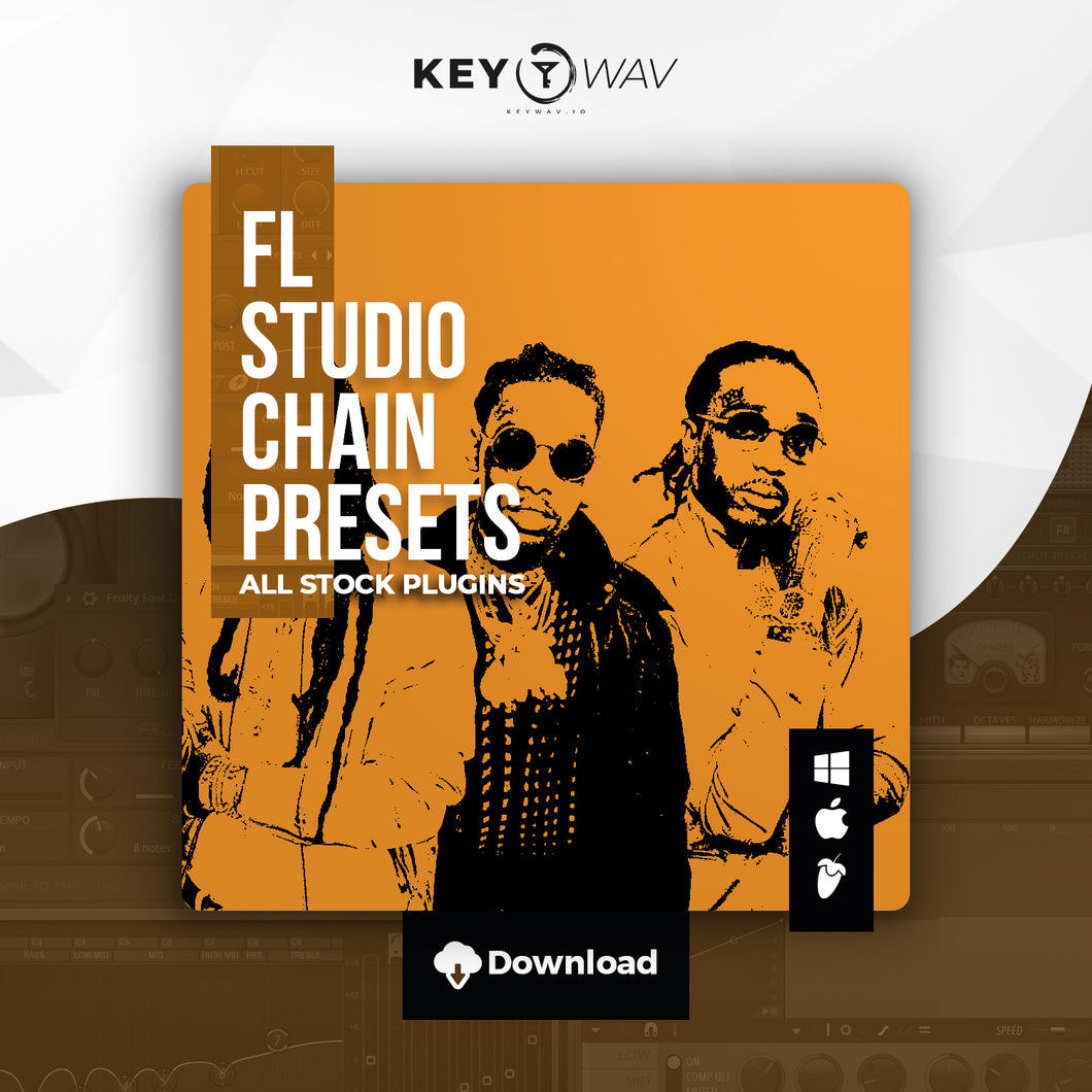Migos Type FL STUDIO Vocal Chain Preset