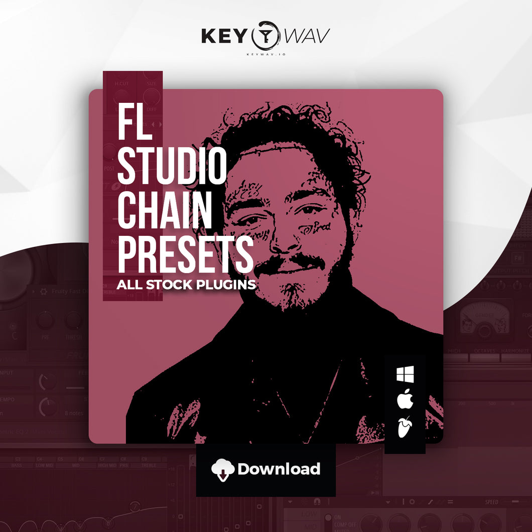 Post Malone Type FL STUDIO Vocal Chain Preset