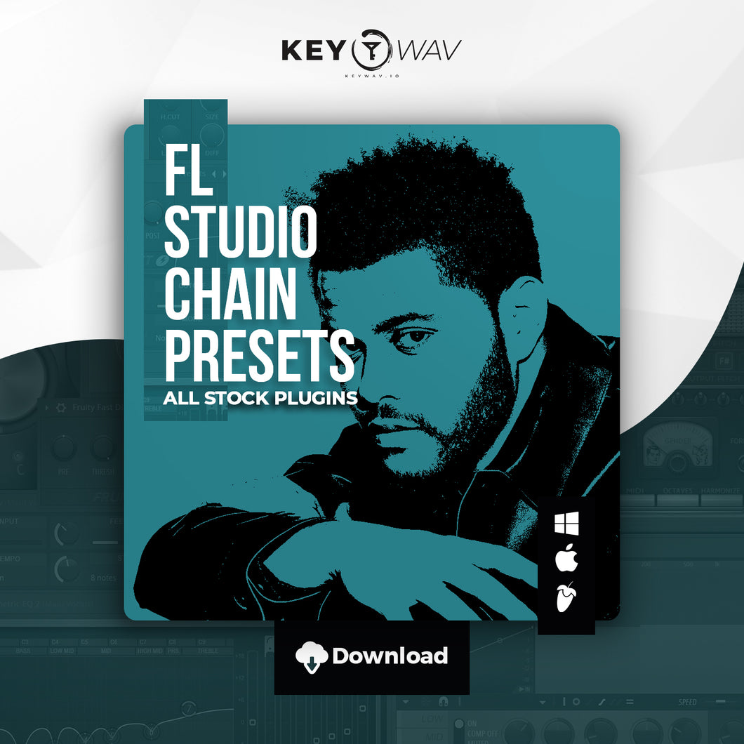The Weeknd Type FL STUDIO Vocal Chain Preset