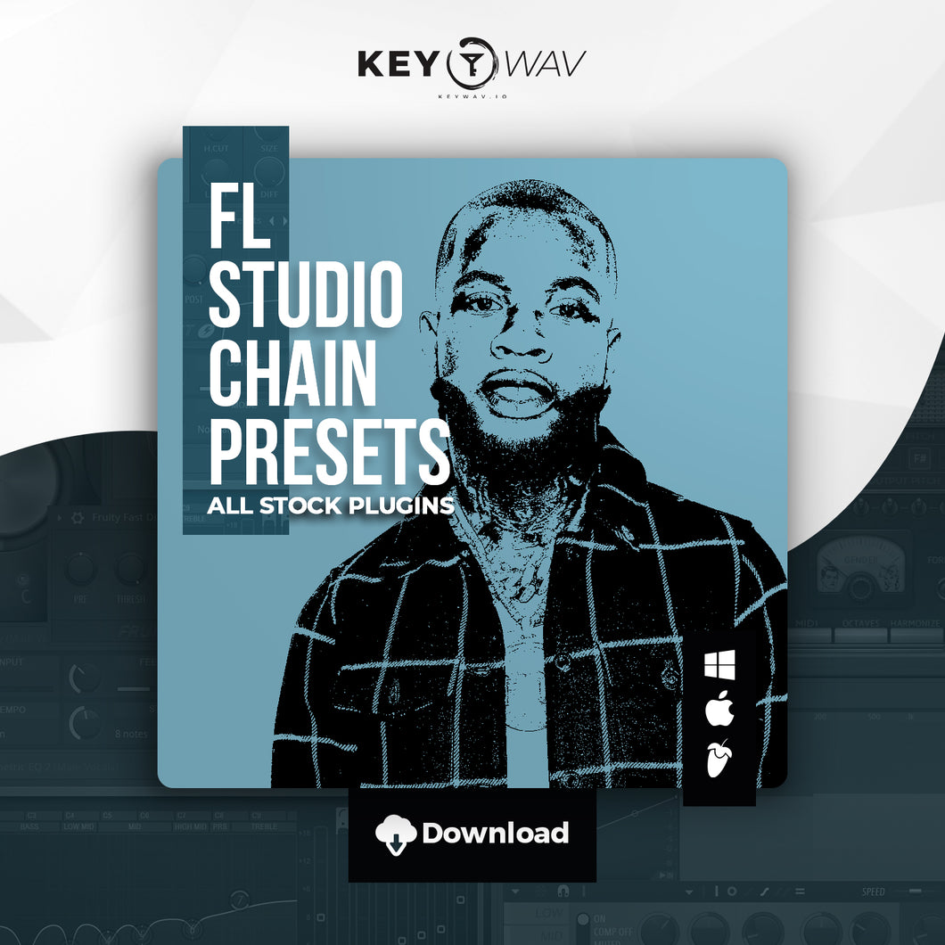 Tory Lanez Type FL STUDIO Vocal Chain Preset