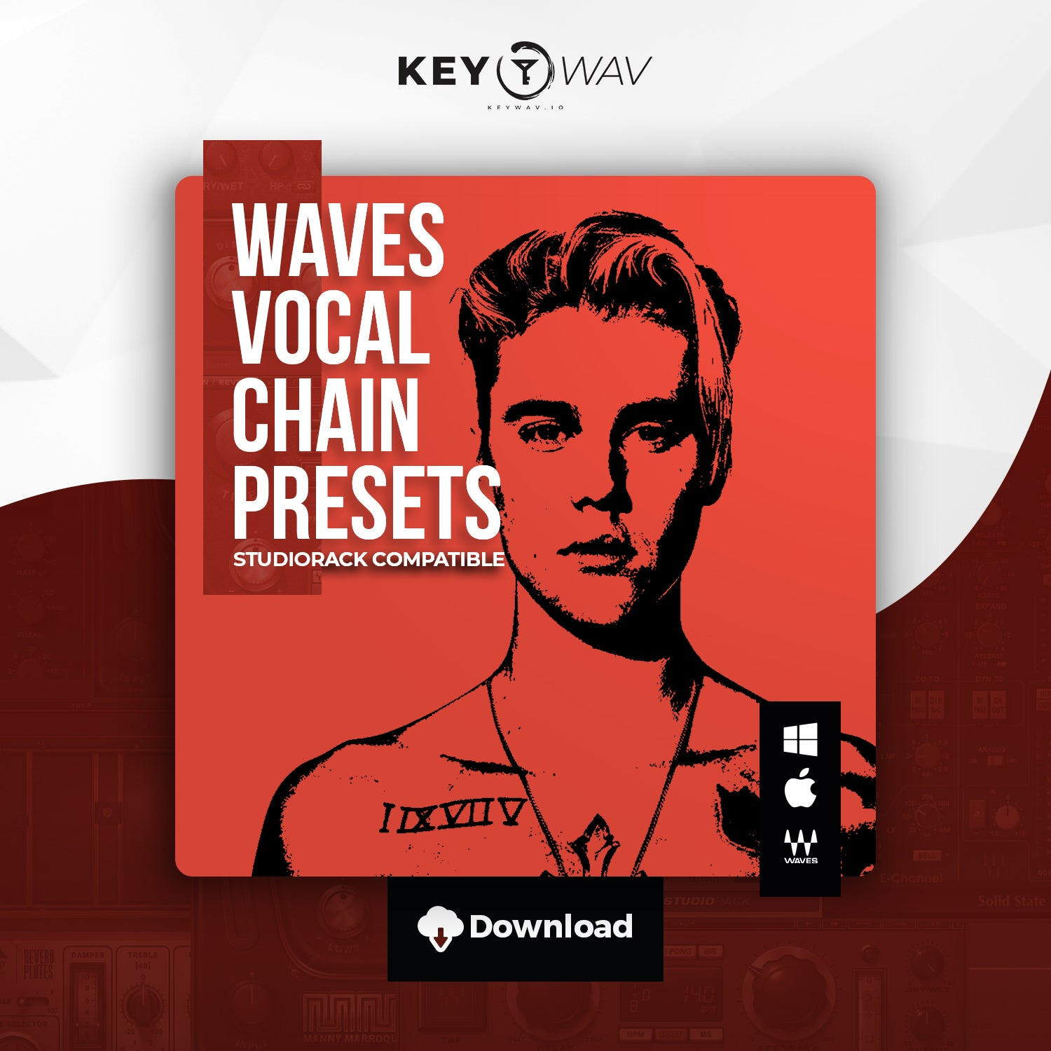 Justin Bieber Type WAVES Vocal Chain Preset