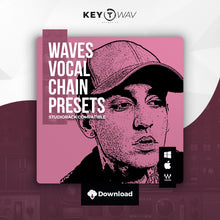 Load image into Gallery viewer, Blackbear Type WAVES Vocal Chain Preset