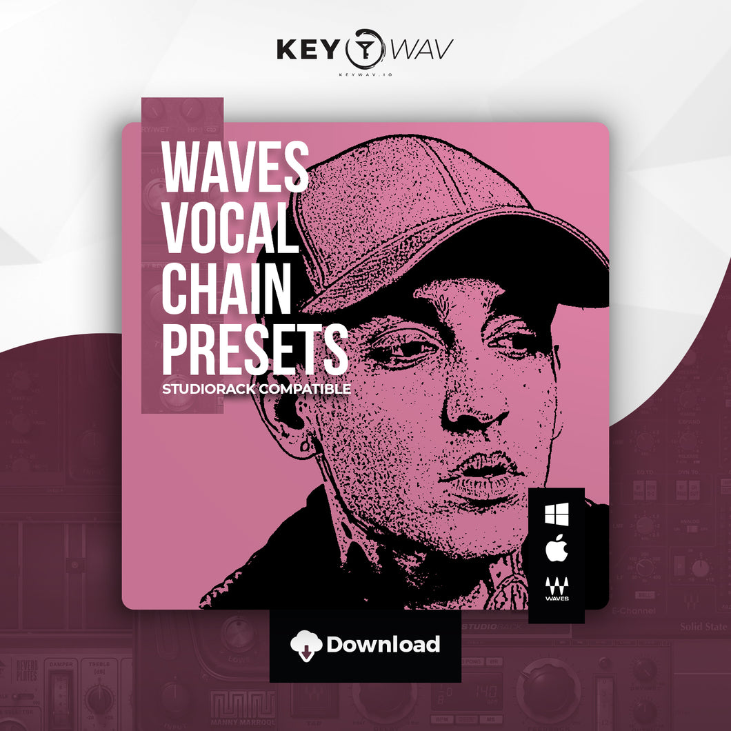 Blackbear Type WAVES Vocal Chain Preset