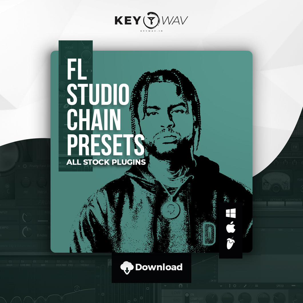 Dave East Type FL STUDIO Vocal Chain Preset