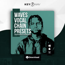 Load image into Gallery viewer, Dave East Type WAVES Vocal Chain Preset