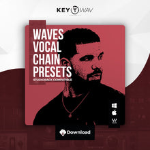 Load image into Gallery viewer, Drake Type WAVES Vocal Chain Preset