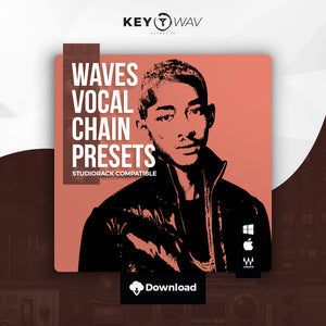 """Iconic"" WAVES Vocal Chain Preset"
