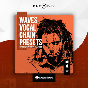 J. Cole Type WAVES Vocal Chain Preset