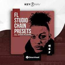 Load image into Gallery viewer, Lil Skies Type FL STUDIO Vocal Chain Preset
