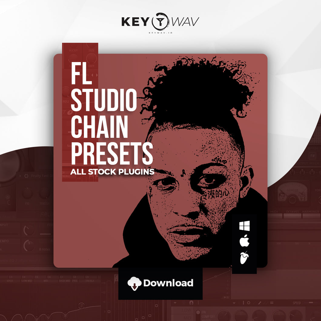 Lil Skies Type FL STUDIO Vocal Chain Preset