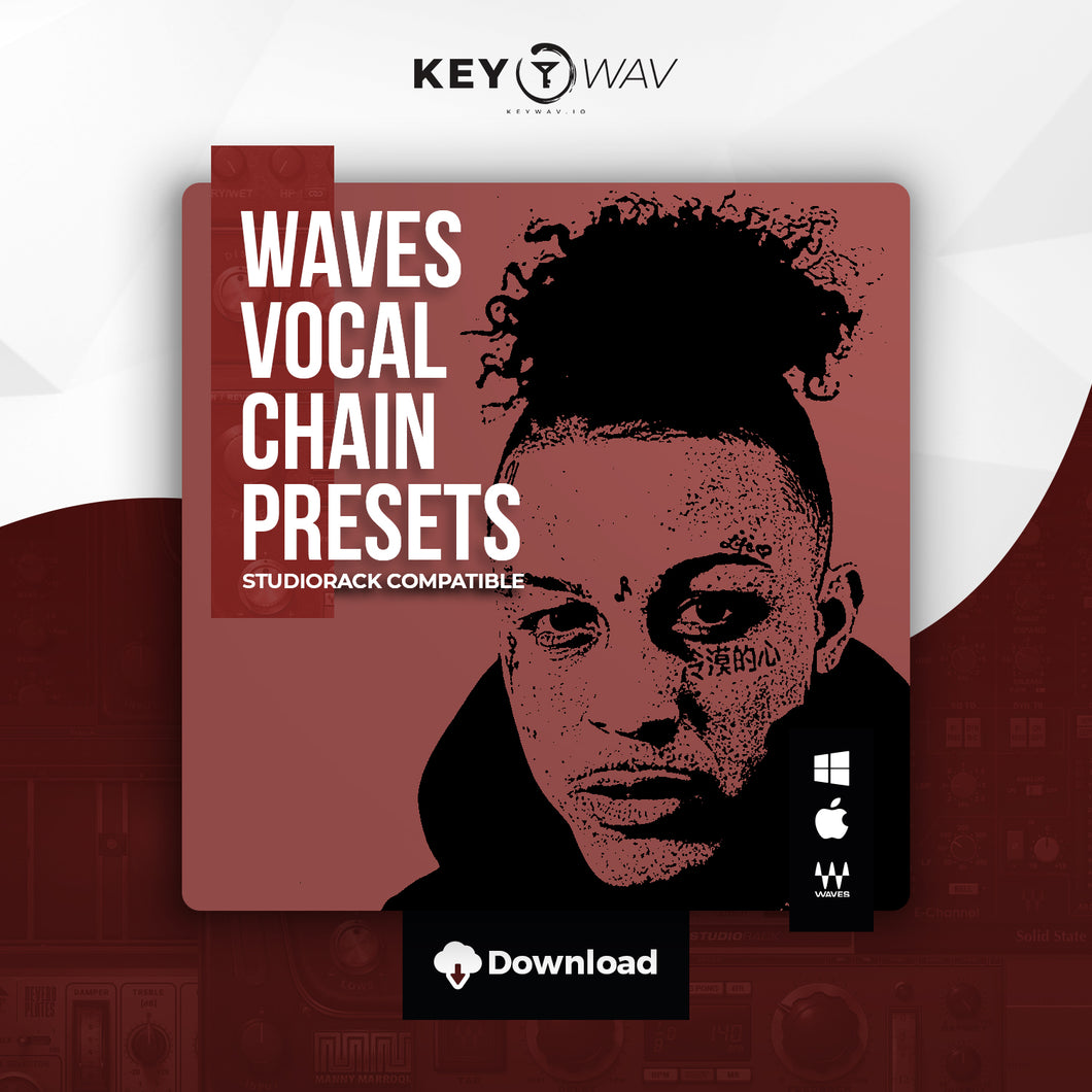 Lil Skies Type WAVES Vocal Chain Preset