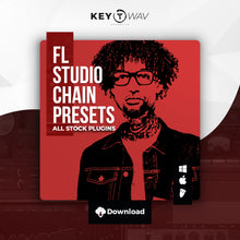 Load image into Gallery viewer, PnB Rock Type FL STUDIO Vocal Chain Preset