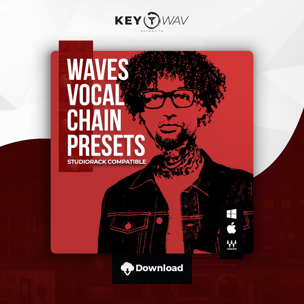 PnB Rock Type WAVES Vocal Chain Preset