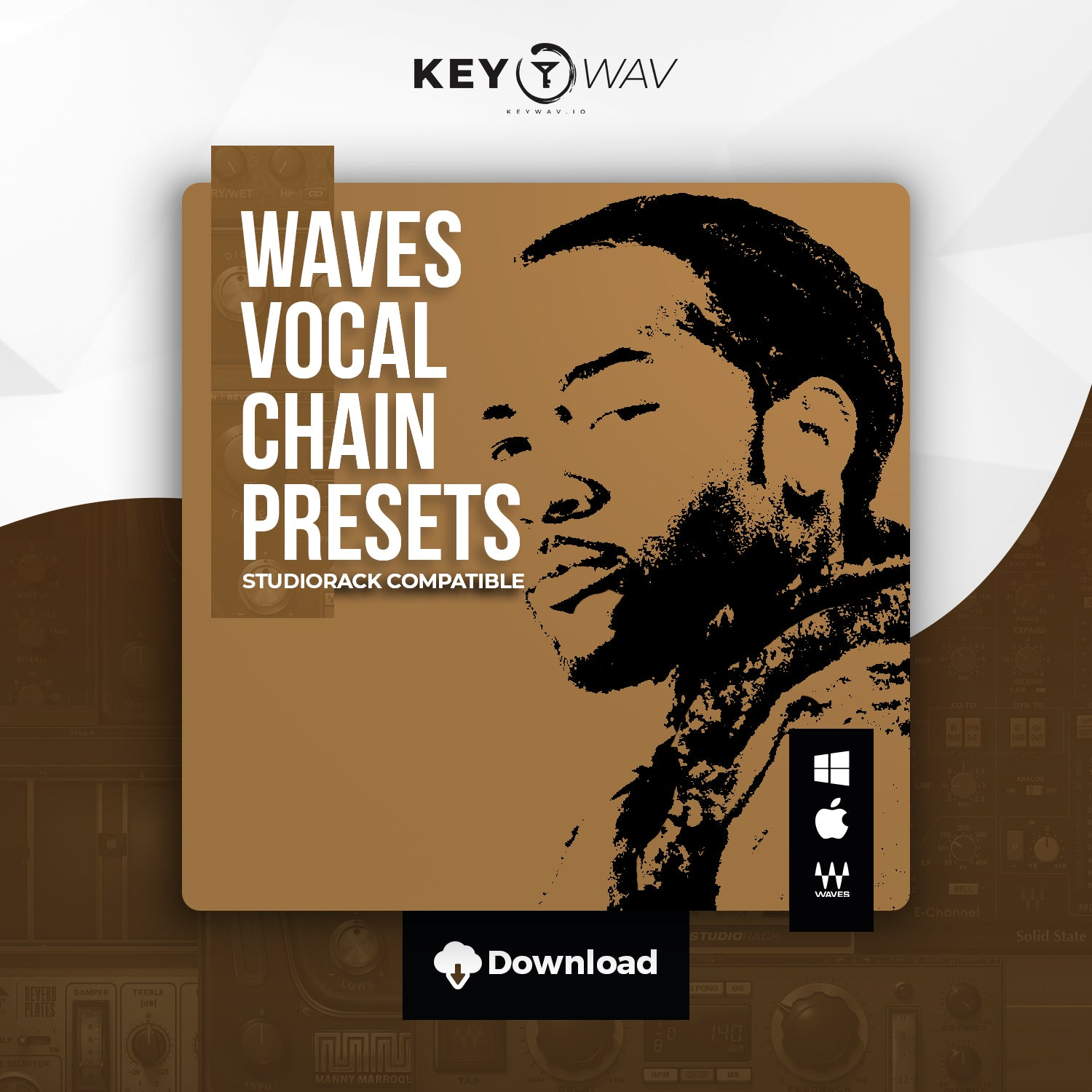 PartyNextDoor Type WAVES Vocal Chain Preset