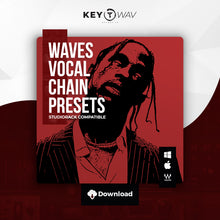 Load image into Gallery viewer, Travis Scott Type WAVES Vocal Chain Preset