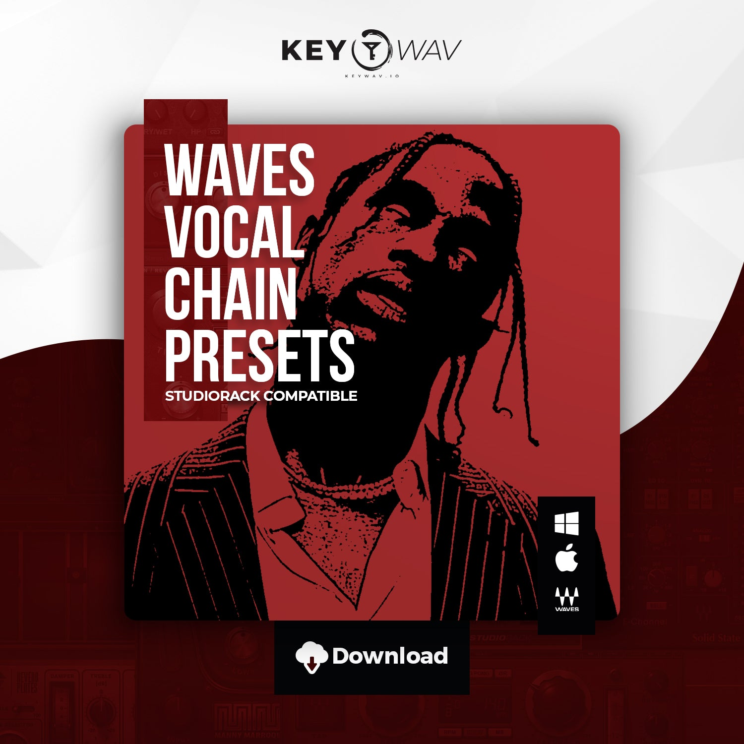 Travis Scott Type WAVES Vocal Chain Preset