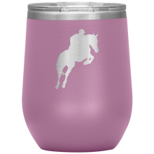 Load image into Gallery viewer, Wine Tumbler - Jumper Classic Clear Round Class - Light Purple