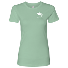 Load image into Gallery viewer, T-Shirt for Women - iDressage Series Collected Trot - Mint
